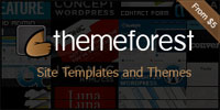 Theme forest Website templates