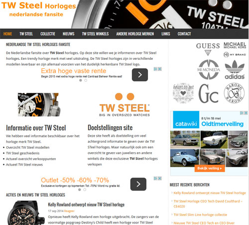 TW Steel horloges 2015