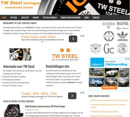 TW Steel horloges 2015