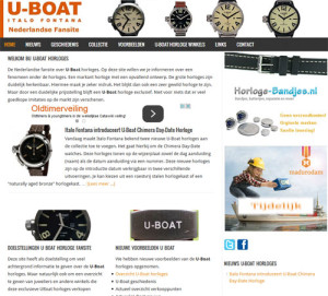 U-Boat horloges 2015